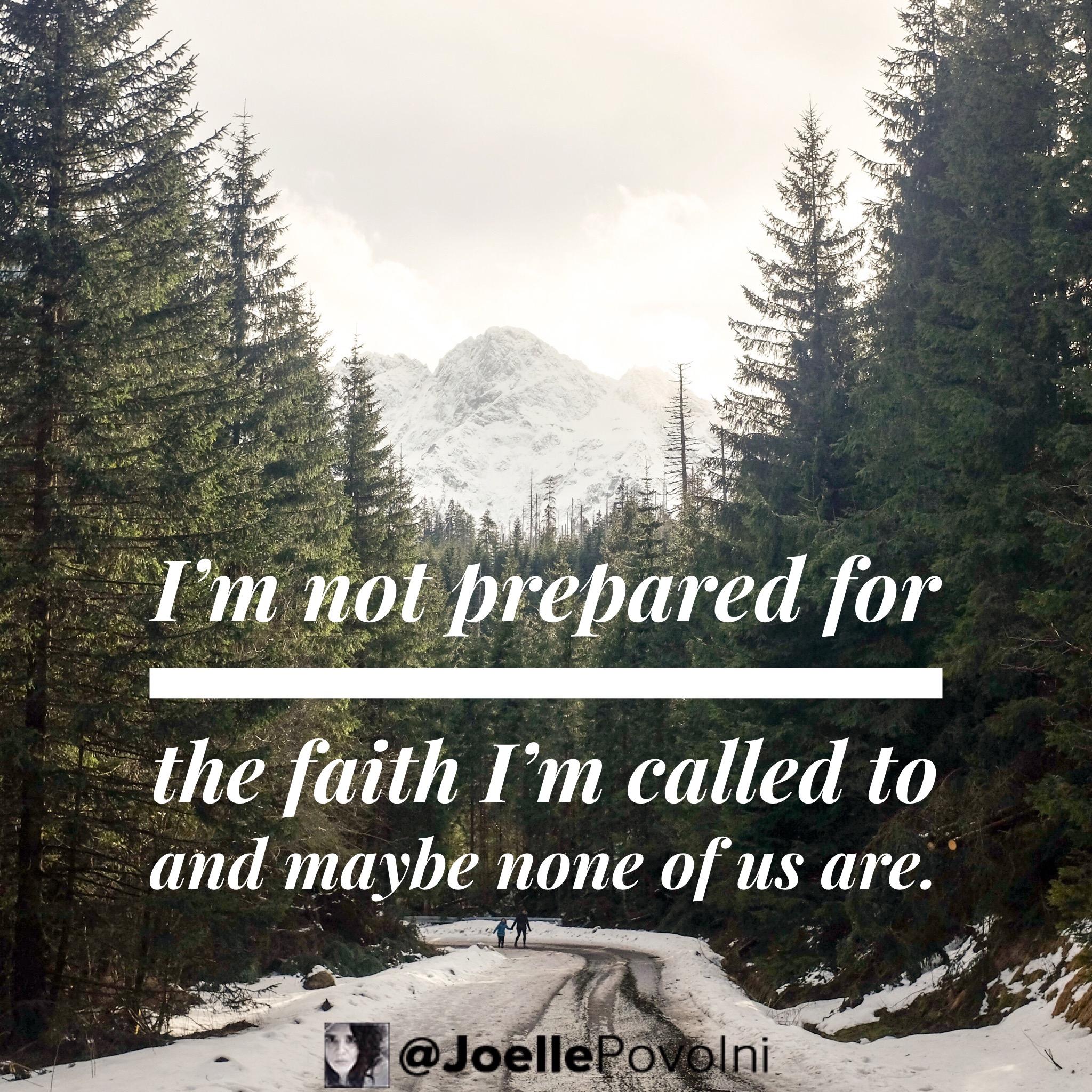 Roasted Faith Series Part 3: Hard Faith