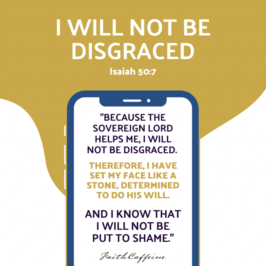 No Room For Shame - I Will Not Be Disgraced
