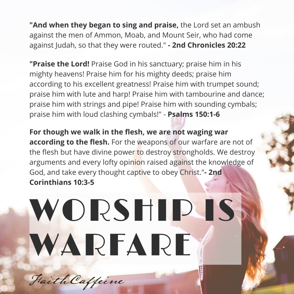 Worship is Warfare - Are You Tired Of Feeling Defeated?