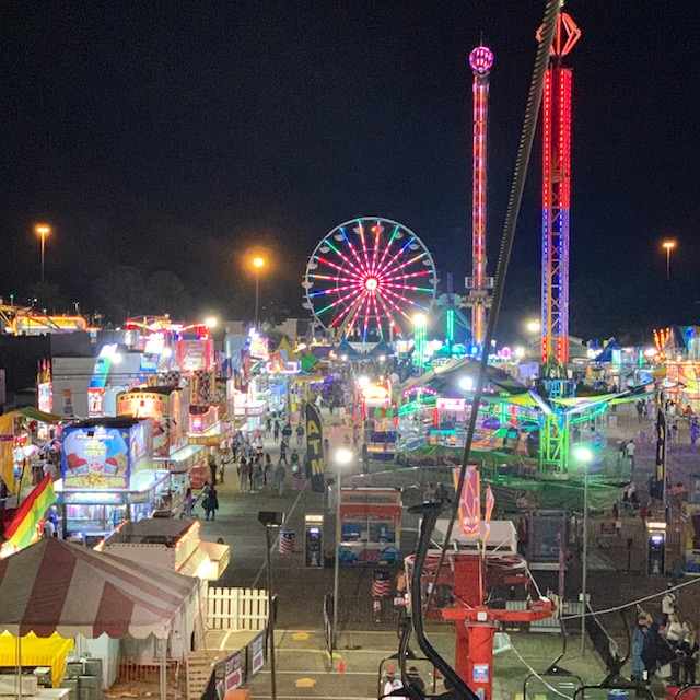 2020 Mississippi State Fair - By the grace of God I can become a better version of me.